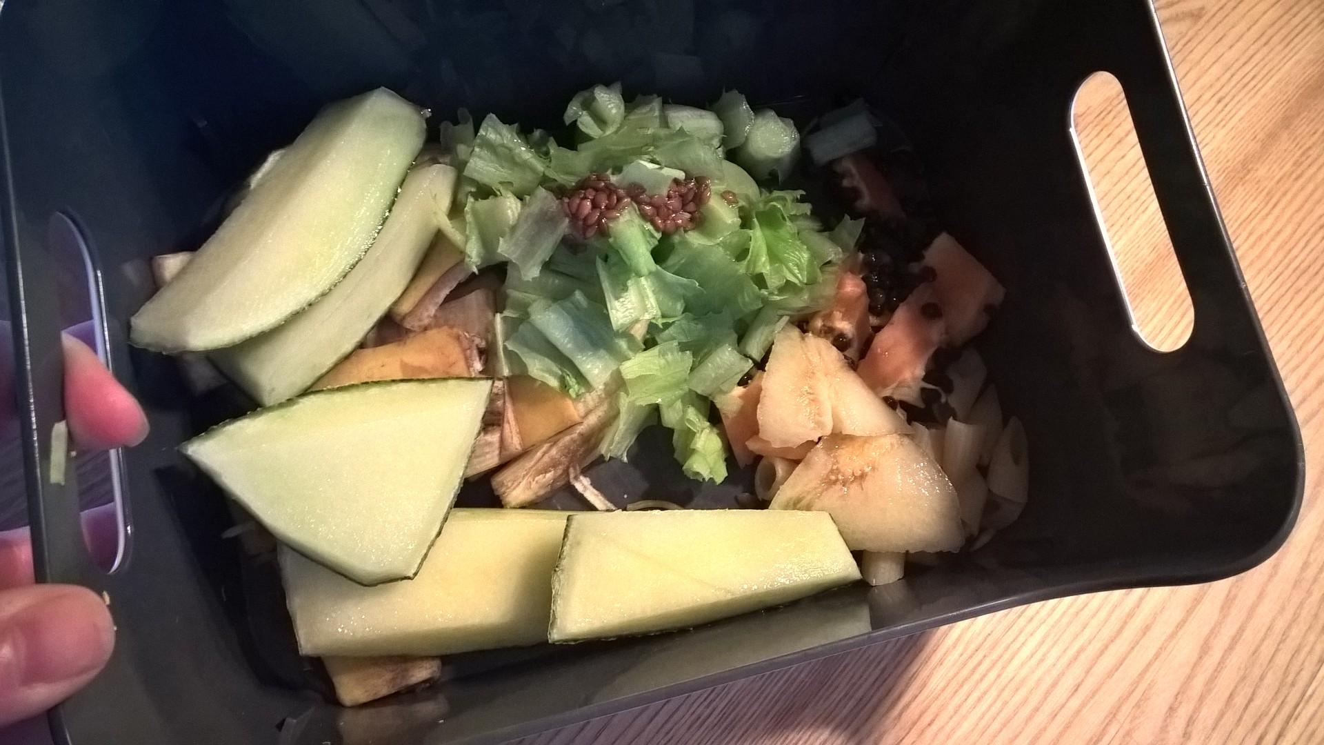 Kanojen ruokavalio - hedelmäkuoret