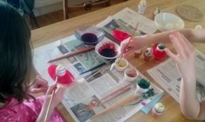 maalaa värit luonnollisesti