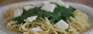 helppo nokkosspagetti