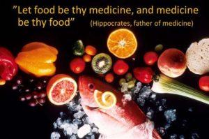 Ruoka on lääke