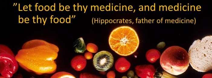 Ruoka on lääke – vai oliko Hippokrates väärässä?