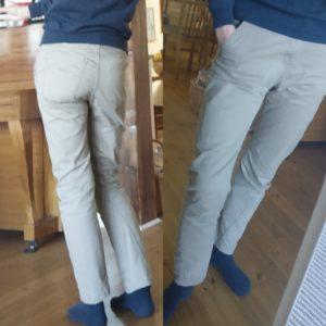 Shopping second-hand housut