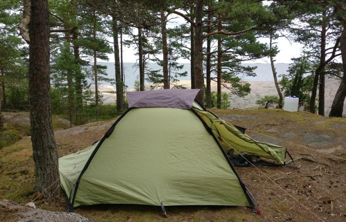 retriitti itseni kanssa - teltta